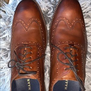 Cole Haan Shoes - Cole Haan men's brown oxfords size 11 M